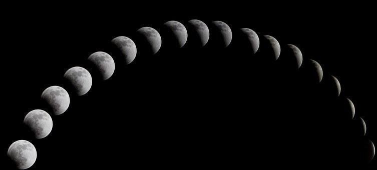 2020 年 新 月 満月